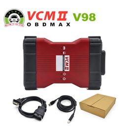 Wholesale V98 VCM II IDS Diagnosis tool green single Board For Ford Mazda VCM VCM2 OBD2 Scanner Latest version V98 VCM II
