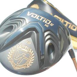 Hot New Golf Driver KATANA VOLTIO HI IV driver clubs 9 10 loft Graphite Golf shaft and headcover Golf clubs Free shipping
