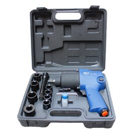 Wholesale 1 quot Double Hammers Pneumatic Air Impact Wrench with Sockets Hammer for Car Repairing Maintenance Tyre Repairs Pneumatic Tools