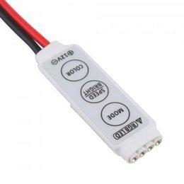 mini rgb led strip light controller DC 12V 3 keys rgb control for rgb led strip lights