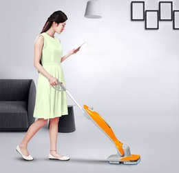 Wholesale Mopping robot wireless hand push electric wet mop to mop sweeping machine intelligent household automatic wiping machine