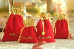 Wholesale 100Pcs Draw String Gift Bags Chinese Wedding Favor Bags Jewelry Gift Bag Best Selling