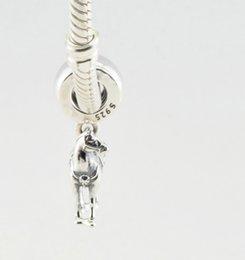 Wholesale Newest Spring Fit Pandora charm bracelet Original ALE silver Disny Maximus Beads Fits Pandora Charms Bracelet Animal Horse dangles