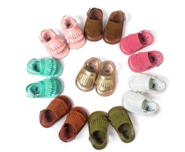 2016 Baby Shoes Baby moccasins first walker shoes Tassels baby shoes Soft soled shoes Soled sandals Kids sandals Fringe boy shoes JY 002