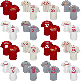 Wholesale Youth Jedd Gyorko Carlos Martinez Tommy Pham Matt Adams St Louis Cardinals kids Baseball Jersey stitched size S XL