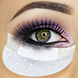 Wholesale Makeup Eye Shadow Shields Shadow Applicator Beauty Tools High Quality Eyeshadow Patches Allergy free Non Woven Fabric