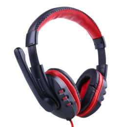 Wholesale Cheap Headphones For Pc - Skype Gaming Game Stereo Headphones Headset Earphone w  Mic For PC Computer Free shipping Cheap earphone best