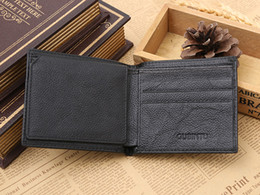 Wholesale The ancient Bintou RFID Shield security scanning layer top layer leather wallet purse antimagnetic multi functional Wallet