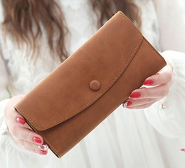 Real Calf Leather Canvas Coated Designer Emilie 63546 Women Long Flap Wallet 5 Pattern Styles For your Choice