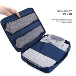 1 PCS Travel Nylon Waterproof Mesh Cloth T-shirt Storage bag Luggage c For Traveling Clothes Packing Container