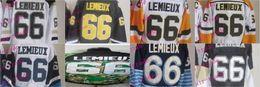 #66 mario lemieux CCM Throwback Vintage Jersey Cheap ICE Hockey Jerseys Heritage Stitched Free Shipping Size 48-56
