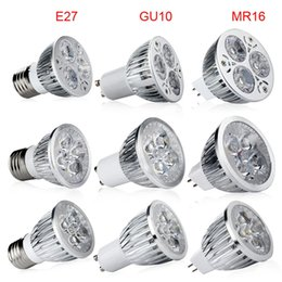 High power CREE Led Lamp 9W 12W 15W Dimmable GU10 MR16 E27 E14 GU5.3 B22 Led spot Light Spotlight led bulb downlight warm pure cool white