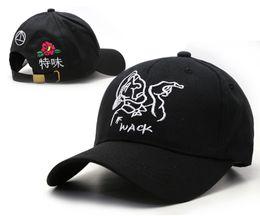 Wholesale 2016 Black wack Skateboards Caps Adjustable Popular panel Baseball Snapback Sun Hat Golf Hats Casquette Snapbacks Peaked Caps HF