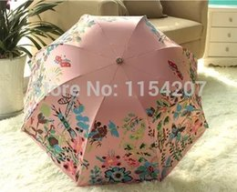 Wholesale Transparent No Metal Limited Real Paraguas Mujer Superacid Glue Uv For Sun Umbrellas Folding Sunny Watercolor Beach Upf gt