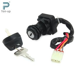 Wholesale Motorcycle Ignition Key Switch with keys for Arctic Cat FIS VP ACT MRP Manual ATV