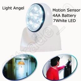 Wholesale 30PCS LJJH1344 Light Angel degree Cordless Stick Up Motion Activated Sensor LED Light Outdoor Light