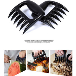 Wholesale Set Of Meat Claws Portable Handler Fork Tongs Pull Shred Pork Poultry Beef BBQ Barbecue Tool High Quality Food Grade BBQ tools Bear Paws