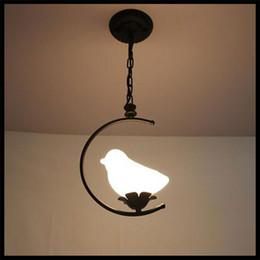 AC110V 120V 220V 230V E27 Black White Metal pendant lights frosted glass bird egg ball lampshade children luminaria infantil hanging lamps