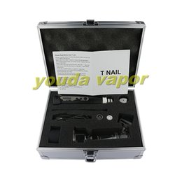 Wholesale 2016 best e nail kit portable electric dab nail dabs mah dabrig wax concentrate dabber