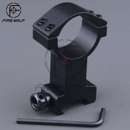 Wholesale 2016 NEW pc High Profile mm aiming scope mount Ring mm Picatinny Weaver Rail Mount For Flashlight