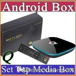 google q box amlogic s905 full hd 1080p google android 2gb Ram 16GB Rom With Dual WIFI Support H.265 4K L-TH