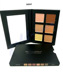 Wholesale HOT Makeup Face Ana Contour Cream Kit LIGHT MEDIUM Colors DHL GIFT