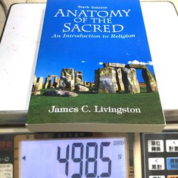 Wholesale 2016 Newest Book Anatomy of the Scared Book by James C Livingston Worth Reselling High Quality With ISBN DHL