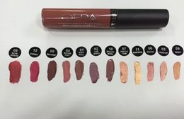 Wholesale Factory discount OFRA matte Lipsticks Manny MUA X Ofra lip gloss makeup lipgloss Aries charmed hypno lip pigment high quality lip rouge
