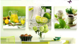 3 Panel Fruits Kitchen Oil Painting On Canvas Large Pictures Wall Art Cuadros For Living Room Poster Printings