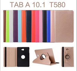 360 Degree Rotating PU Leather Case Smart Cover For Samsung Galaxy Tab E 9.6 Inch T560 Tab A 10.1 T580 T585