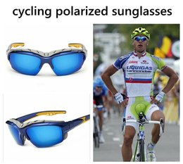 Wholesale Cycling glasses Polarized Eyewear Sunglasses uv400 Outdoor sports protect Glasses Bicycle Bike Sports goggle dustproof Sun Glasses colors