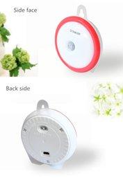 Fashion Smart led light the decoration body sensor led night light for desk top washroom bedroom 3M sensitive led lamp