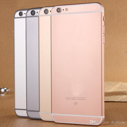 Wholesale 4 quot i6s Dual Core MTK6572 goophone i6s G Phone call with MB GB mp camera Sealed box Free ship