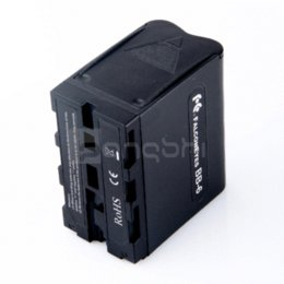 Wholesale 6pcs AA Battery Case Pack Power as NP F970 for Led Video Light Panel battery case aaa