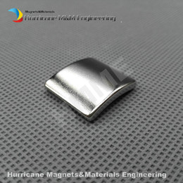 Wholesale 1000 NdFeB Magnet Arc Length25 Width23 Thickness2 mm N38UH Moto magnet for generators wind turbine Neodymium Magnet