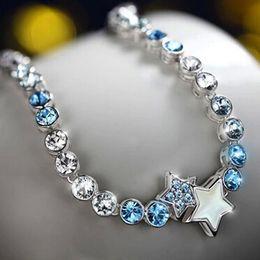 Hot New Fashion Austria Crystal Charm Bracelet Unique Design Swarovski Elements Crystal bracelets for Women Free shipping