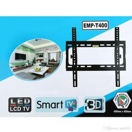Tilt HDTV Montage mural Support à écran plat avec Max.110lbs Capacité de chargement pour 26