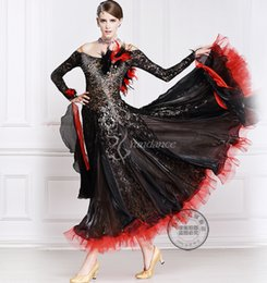 black feather customize ballroom Waltz tango salsa Quick step competition dress one shoulder cutout