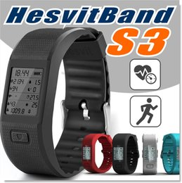 Wholesale Hesvitband Activity Fitness Tracker Smart Wristband Usable without Phone Bluethooth Bracelet Sports Watch with Automatic Heart Rate Monitor