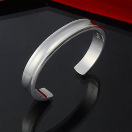 Factory direct wholesale 925 sterling silver bracelet bangles fashion without 1837 small silver jewelry silver bracelet