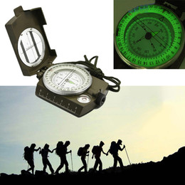 Wholesale High Quality Waterproof Professional Pocket Military Army Geology Compass for Outdoor Hiking Camping Navigator MA0053 kevinstyle