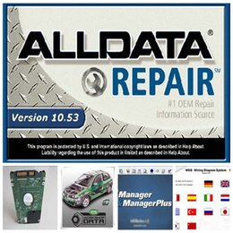 Wholesale HOT alldata and mitchell software alldata Mitchell auto parts catalogue etc in1 with TB New Hard Disk