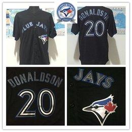 Wholesale Majestic Official Cool Base MLb Stitched th Toronto Blue Jays Josh Donaldson White BLue Red Gray Black Jerseys Mix Order mlb