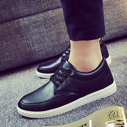 Spring and autumn day men's casual shoes shoes popular Korean tide British winter youth pure color shoes shoes