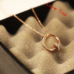 Popular Punk Necklace & Pendant Crystal Round Choker Necklace Gold Plated Chain Necklace for Women Fashion Jewelry Accessories