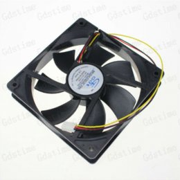 Wholesale 1pcs Pin inch CM mm x120x25MM DC V Axial Flow Computer PC CPU Case Cooling Fans