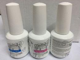 Top quality Gelish harmony colors LED UV Gel nail polish Nail art lacquer Soak off nail gel nails french