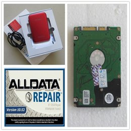 Wholesale 2016 best quality newest Alldata V10 Alldata with auto repair softwares in GB HDD