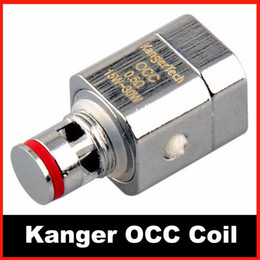 Kanger OCC Coils 0.5ohm 1.2ohm Subtank coils ssocc coil occ Replacement Coil for Kangertech mini subtank nano Best Quality DHL free shipping