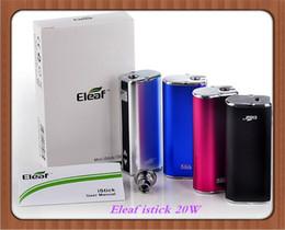 Wholesale Eleaf iStick W W W MOD Full Kits E leaf i Stick Mini Watt VS Authentic Kangertech SUBOX Joyetech eVic VT eGo ONE